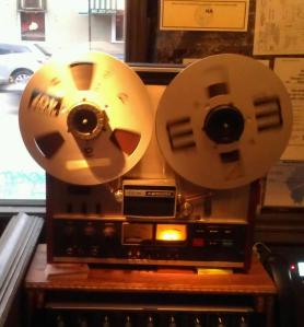 Reel-to-Reel at Au Cheval